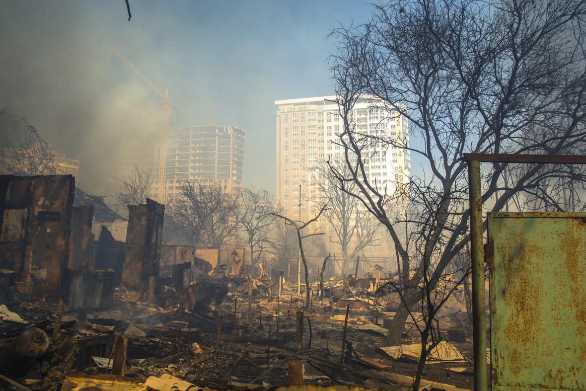 Požár, Rostov na Donu