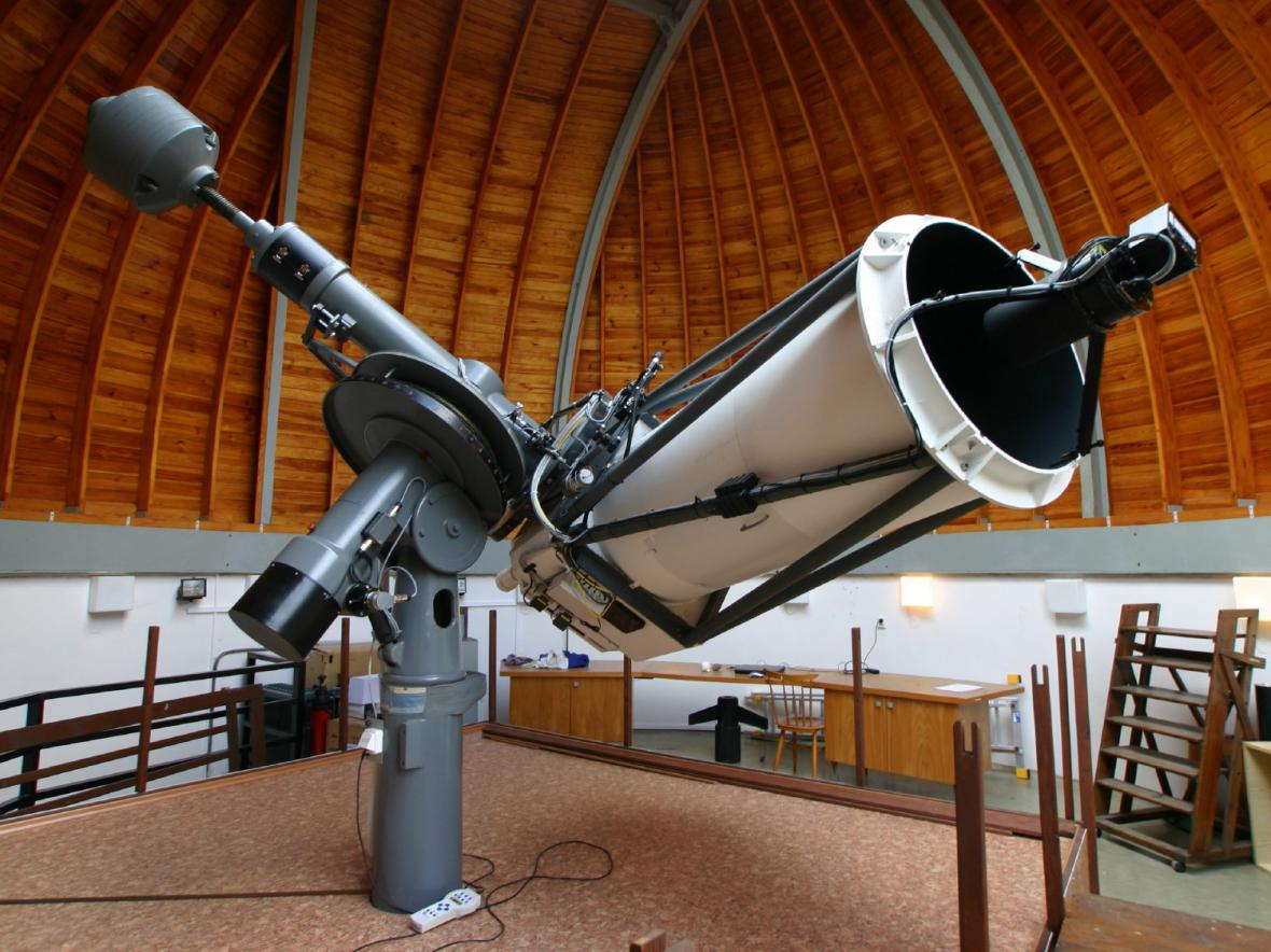 65cm teleskop v Ondřejově