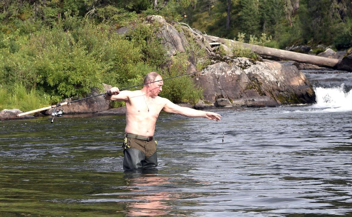 Vladimir Putin na dovolené