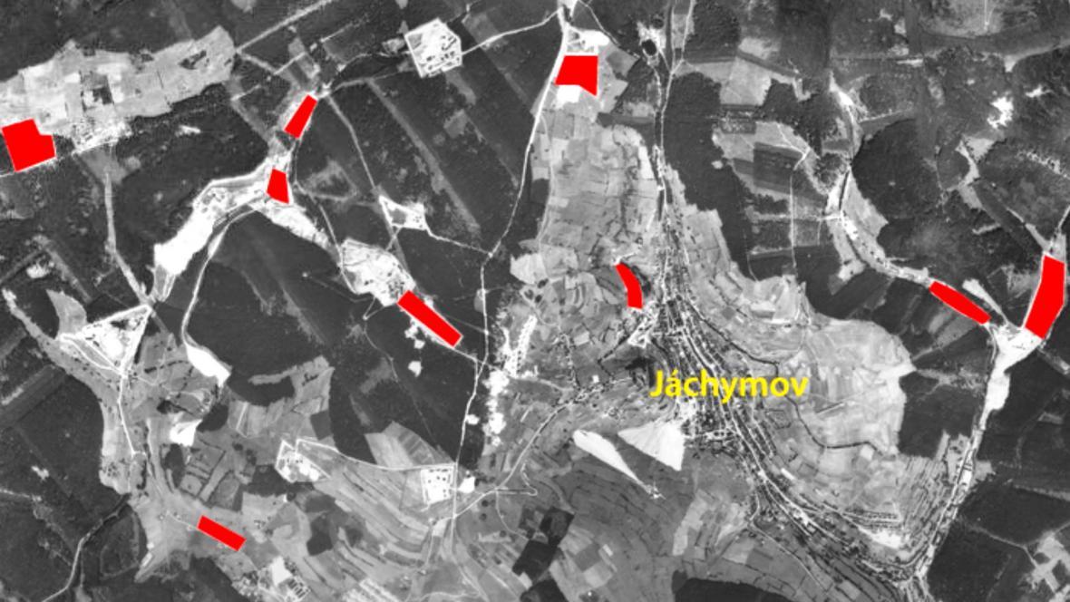 Na Jáchymovsku bylo 11 trestaneckých táborů