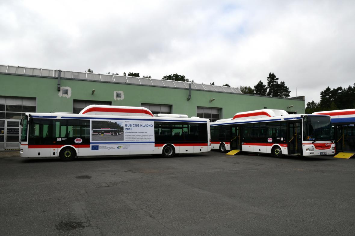Autobusy kladenské MHD
