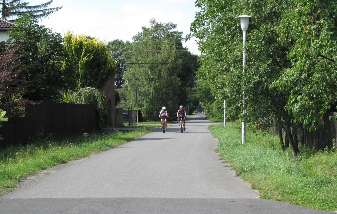 Cyklistická ulice v Ostravě