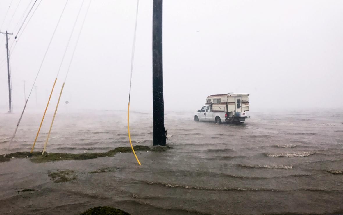 Přívaly vody v Corpus Christie