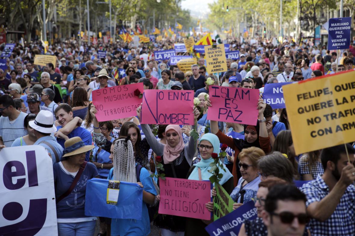 Pochod proti terorismu