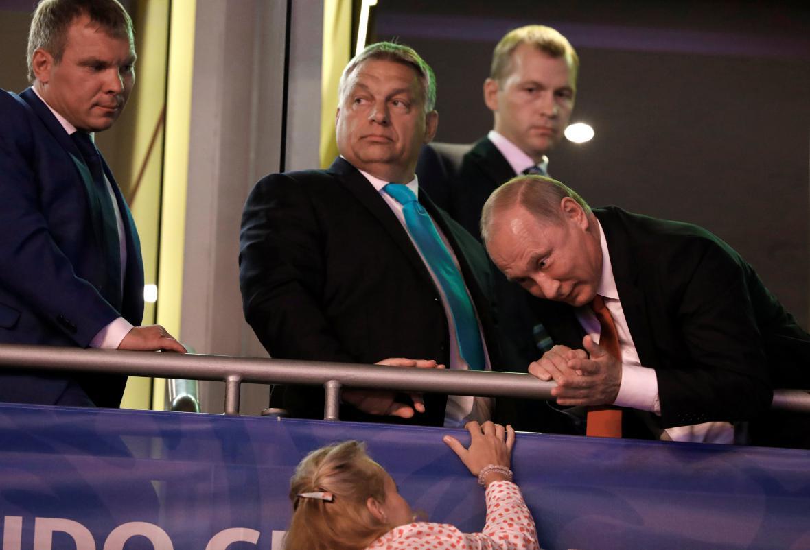 Putin navštívil mistrovství světa v judu