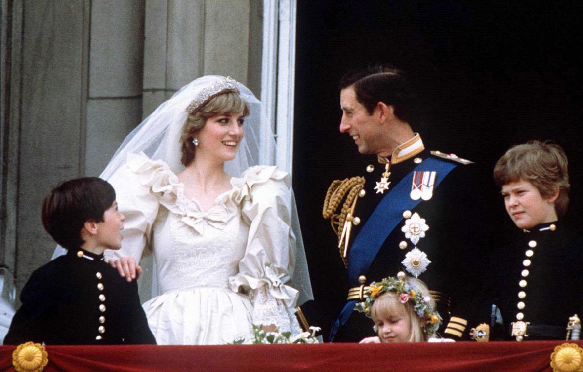 Svatba Diany Spencerové s princem Charlesem