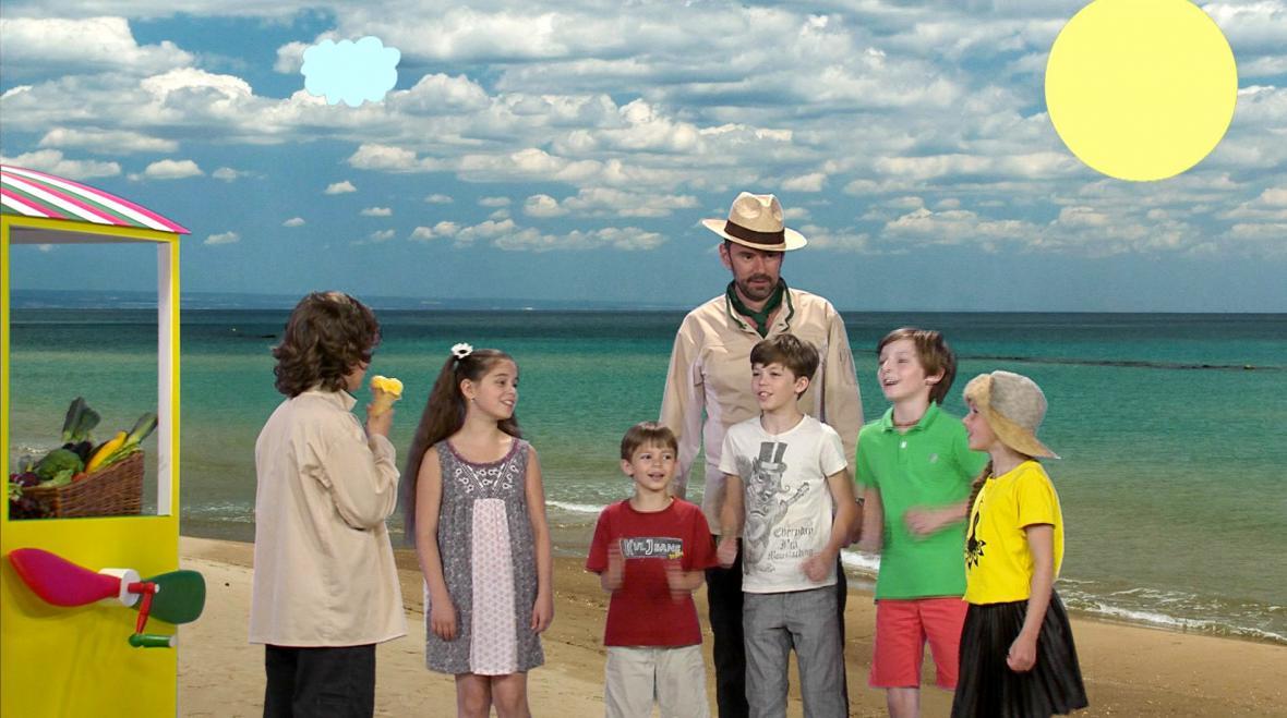 Z natáčení pořadu Čau bambini