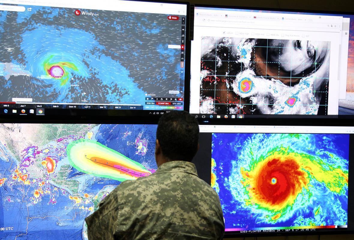 Hurikán Irma v Karibiku
