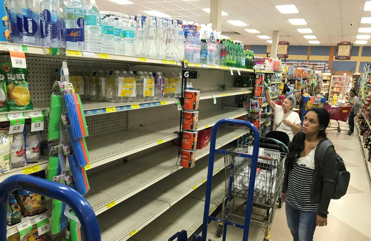 Florida se připravuje na hurikán Irma