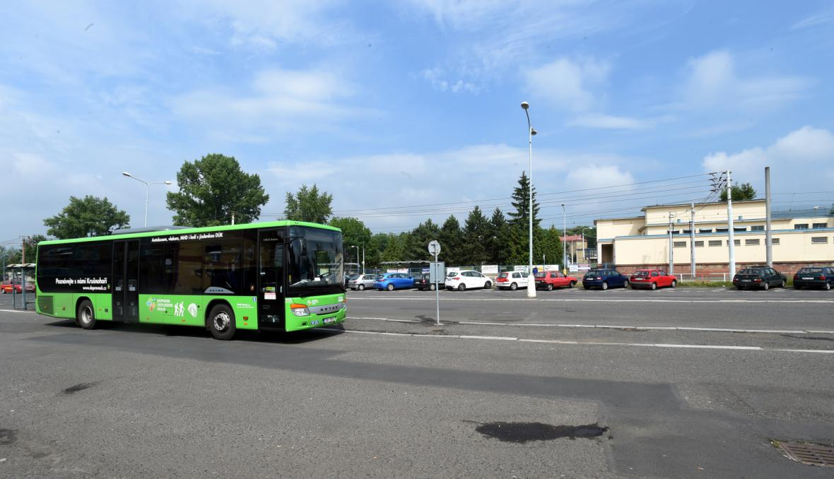 Autobus v Litvínově