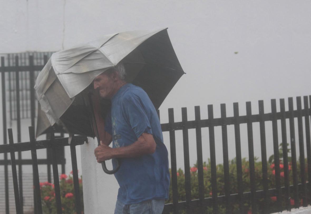 Hurikán Irma míří k Portoriku