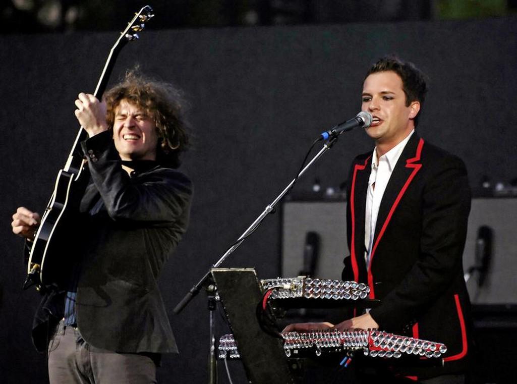 Koncert The Killers v Kalifornii v roce 2005
