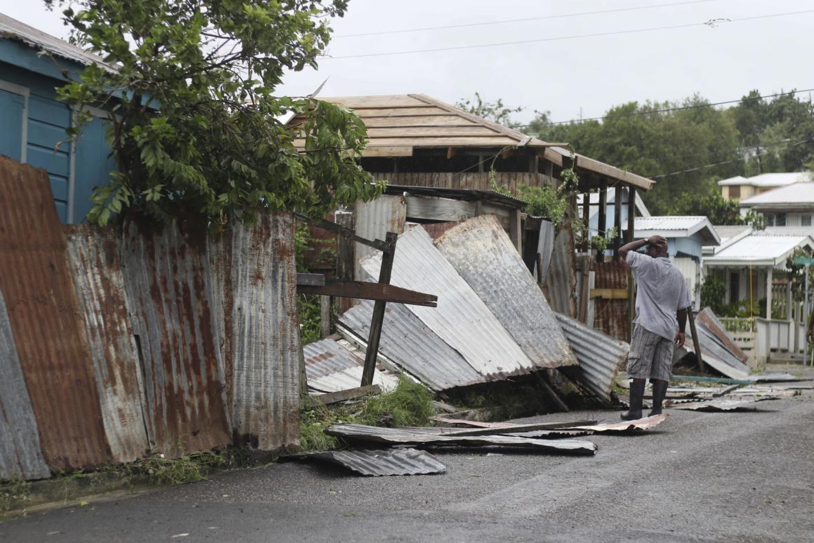 Následky hurikánu Irma na Barbudě