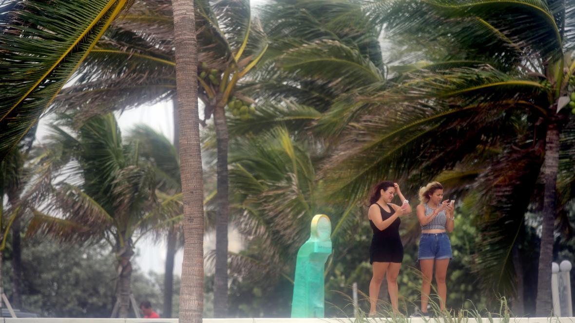 Irma už je nablízku, Fort Lauderdale na Floridě