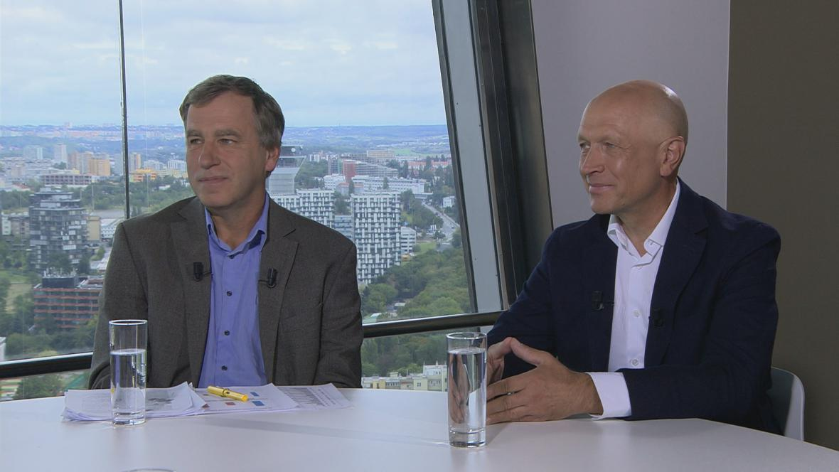 Luděk Niedermayer a Pavel Kysilka v OVM ( zleva)