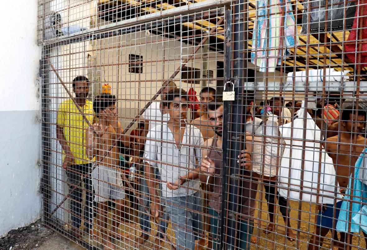 Detenční centrum v Tripolisu