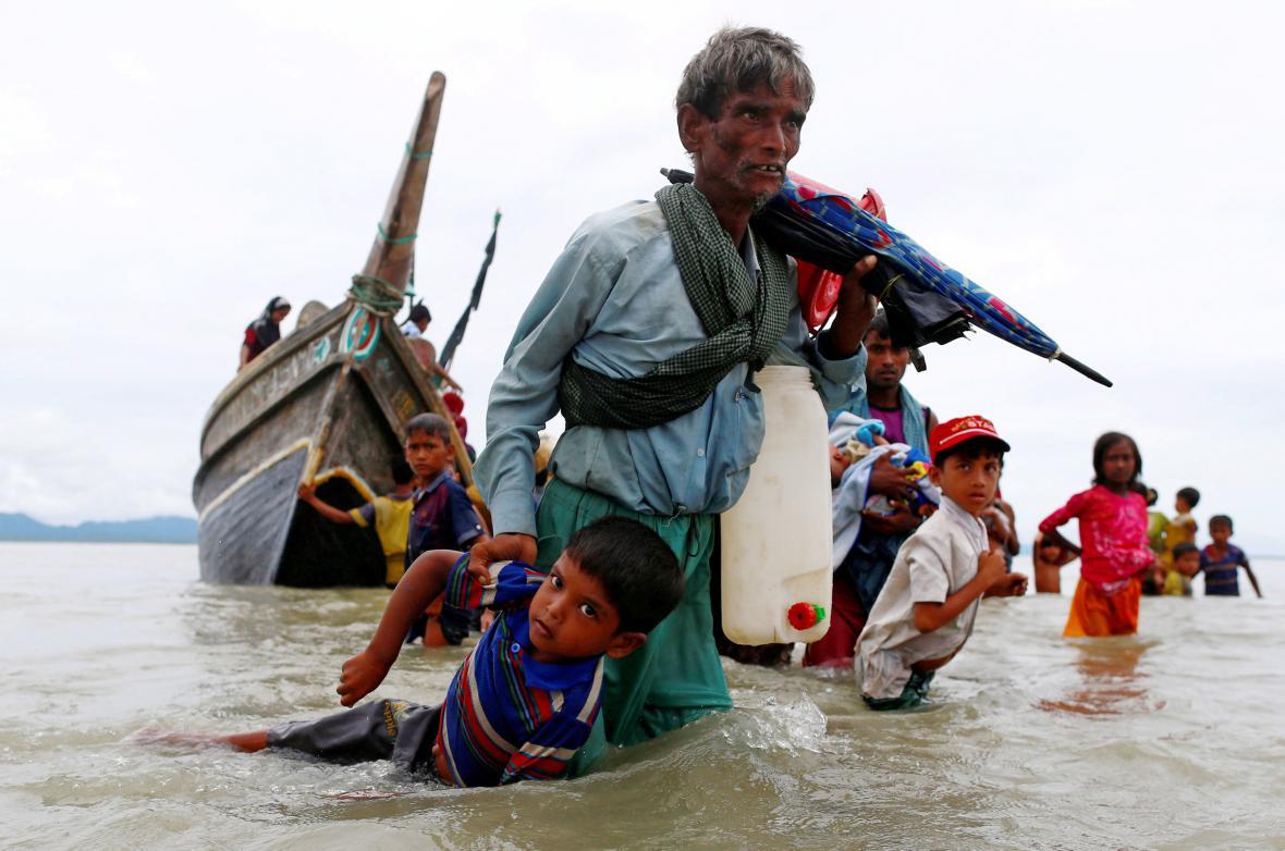 Uprchlí Rohingové
