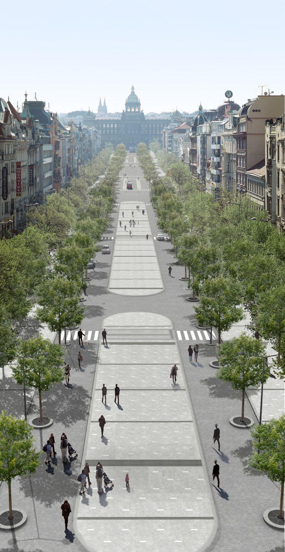 Projekt rekonstrukce Václavského náměstí