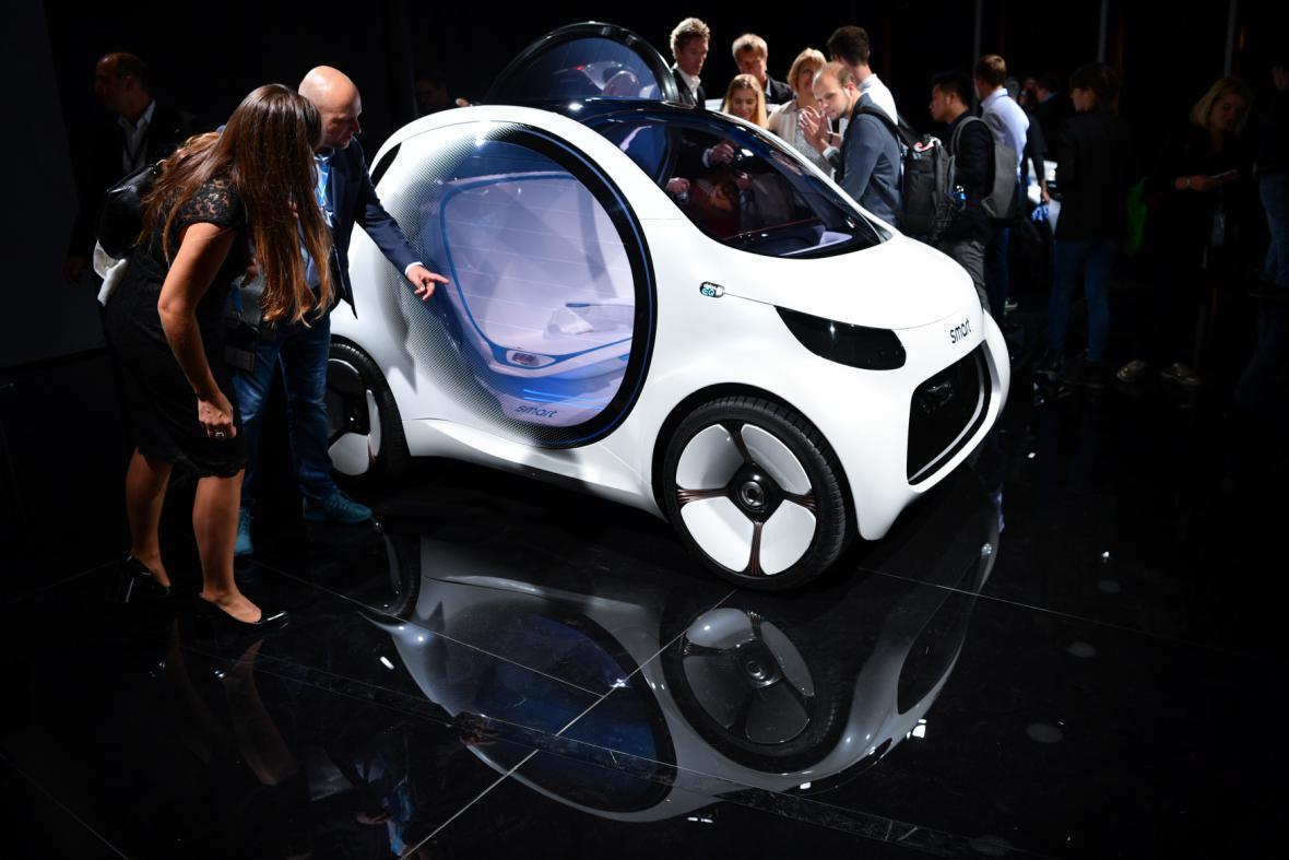 Mercedes Smart 'Vision EQ'