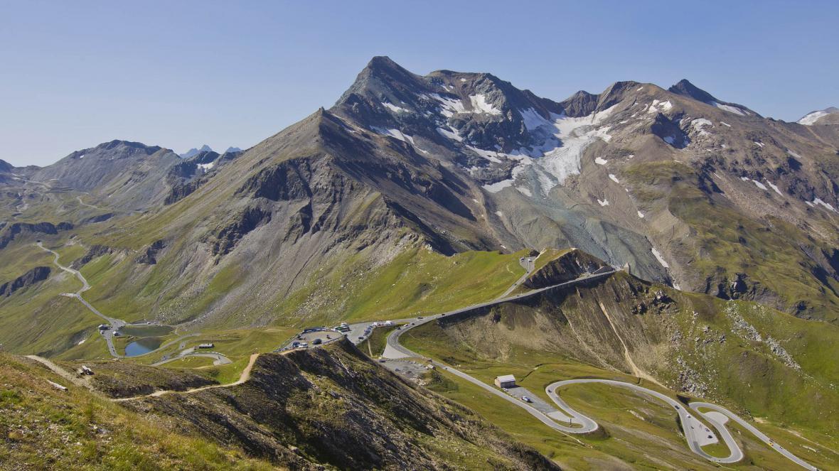 Panorama Grossglocknerské silnice