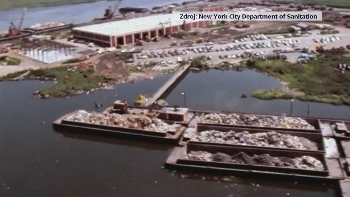 Bývalá skládka na Staten Island