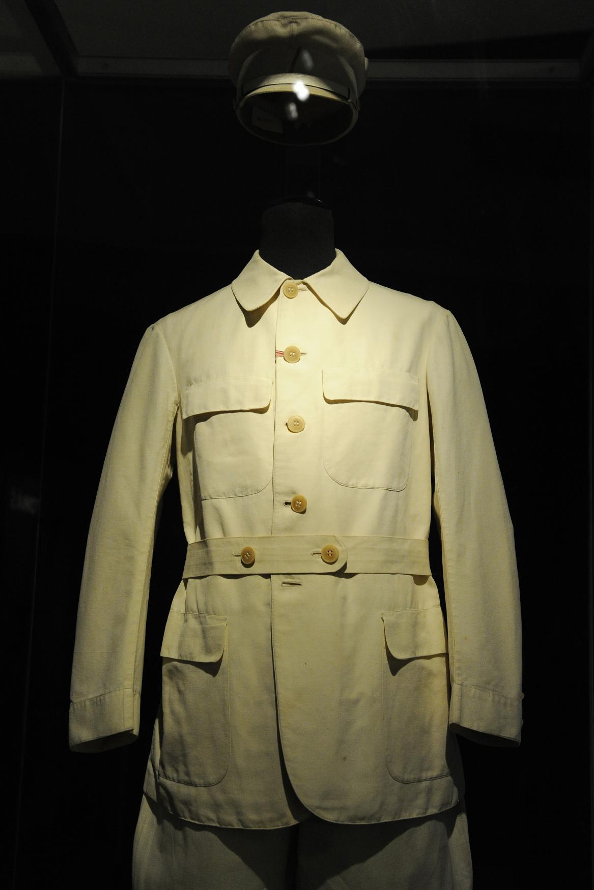 Vycházkový oblek Tomáše Garrigua Masaryka