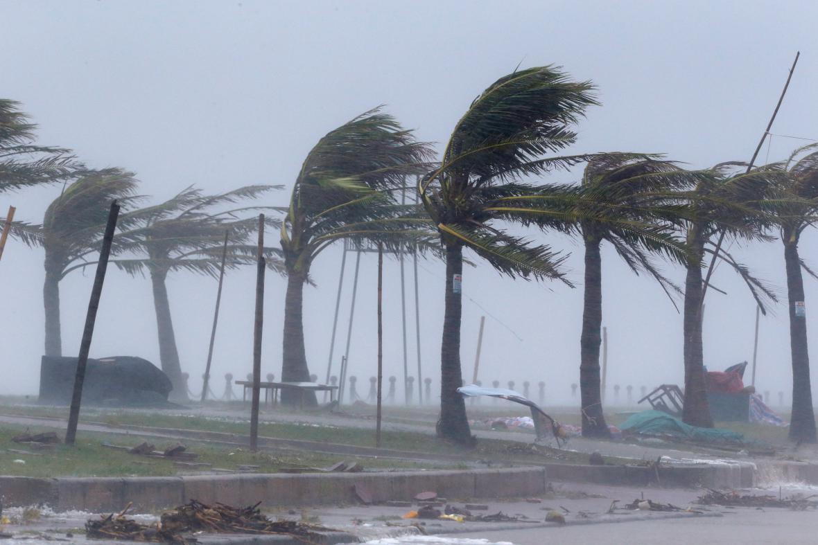 Tajfun Talim se prohnal Vietnamem