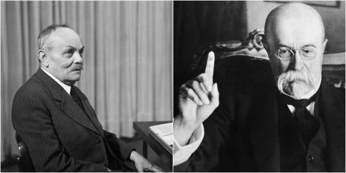 J. S. Machar a T. G. Masaryk