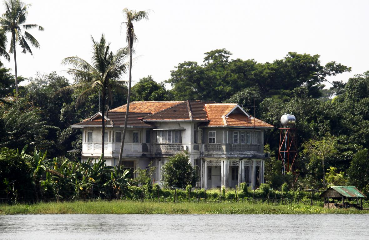 Dům, ve kterém žila Su Ťij patnáct let v domácím vězení