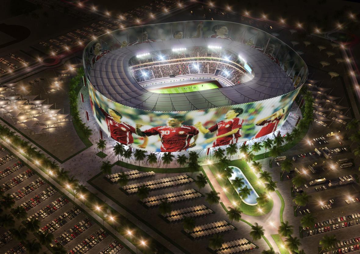 Speerova kancelář navrhla stadion i pro katarské mistrovství světa ve fotbalu