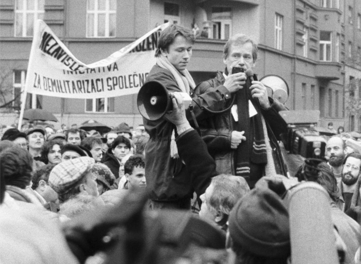 Demonstrace na Škroupově náměstí (1988)