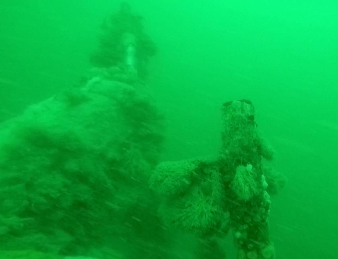 Vrak německé ponorky nalezený u belgického pobřeží