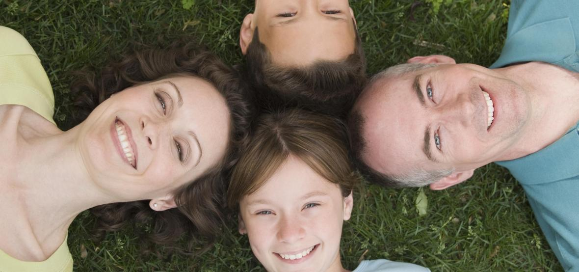 Rodina - ilustrační záběr