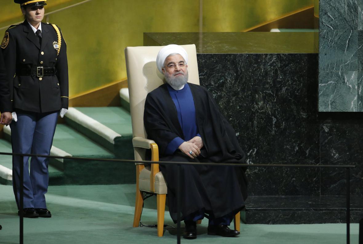Hasan Rouhání v OSN
