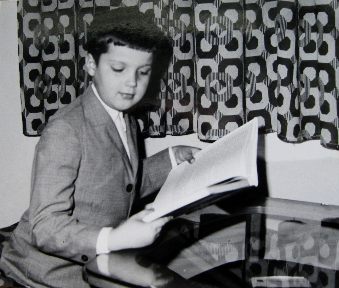 Julius Varga v dětství