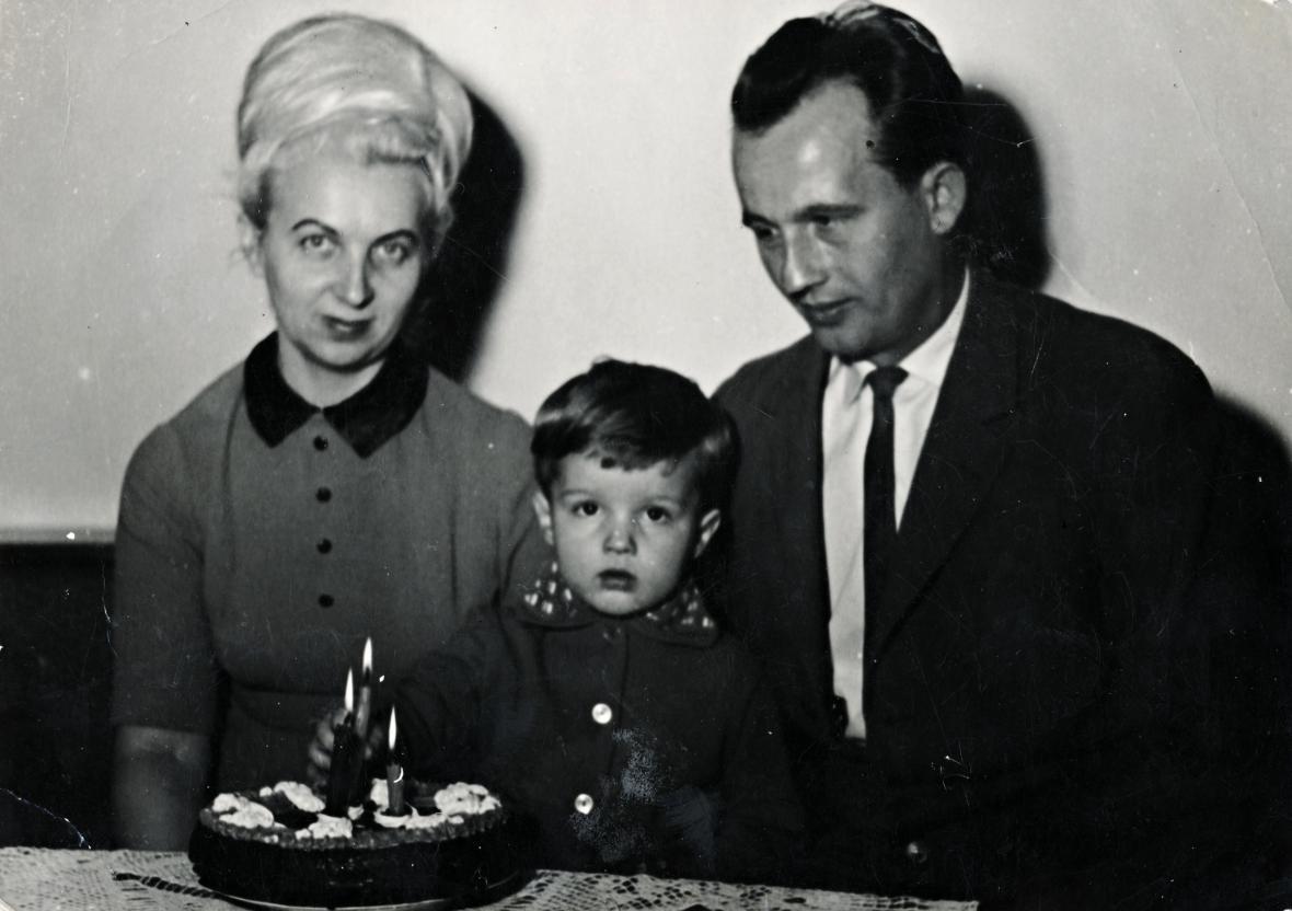 Třetí narozeniny Julka Vargy