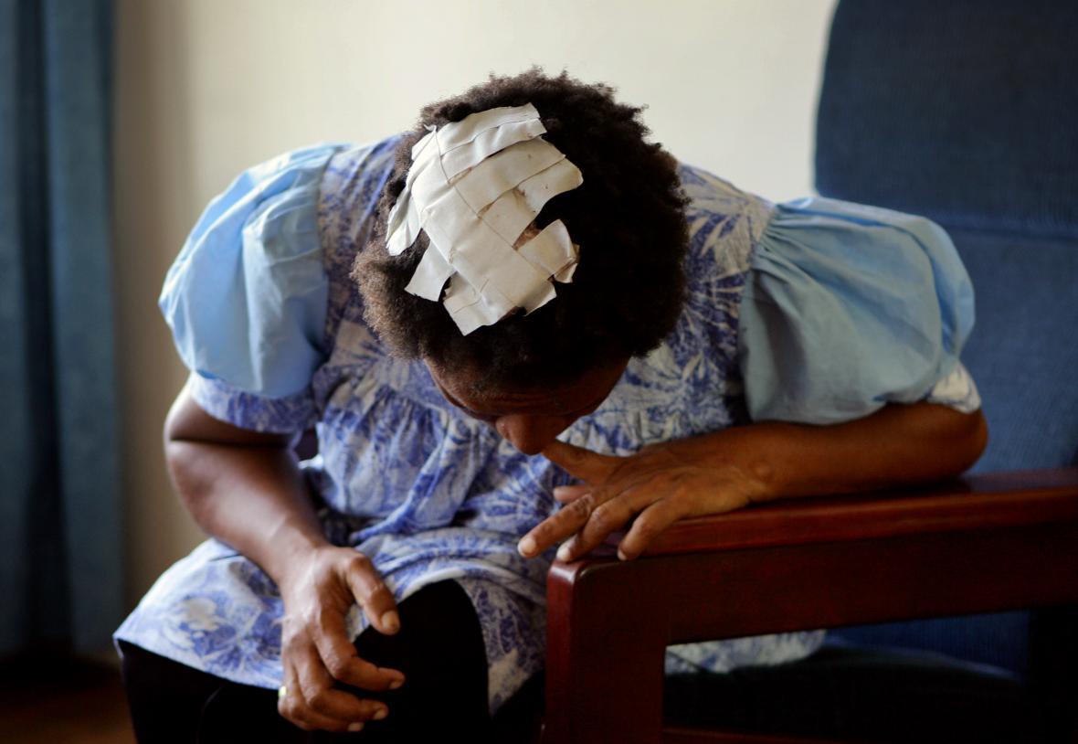 Oběť domácího násilí