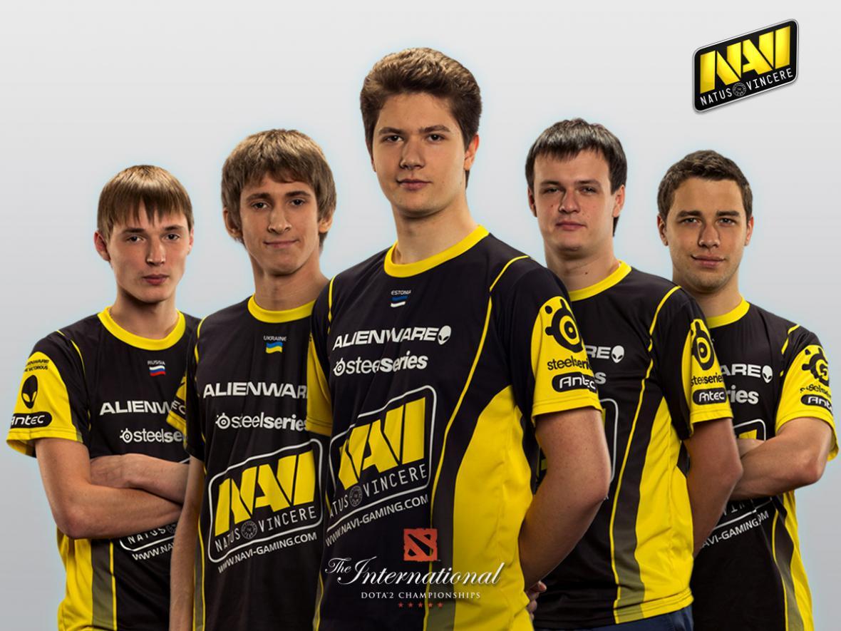 Sestava týmu NaVi z roku 2012