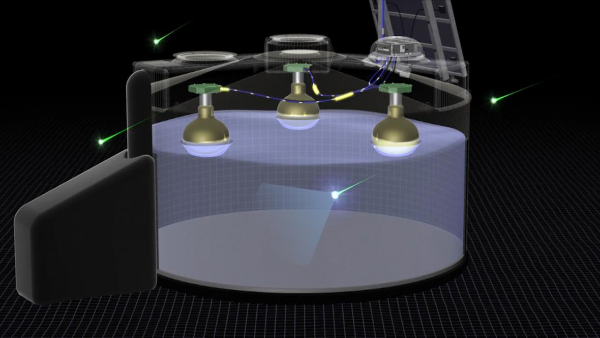 Detektory částic na observatoři Pierra Augera