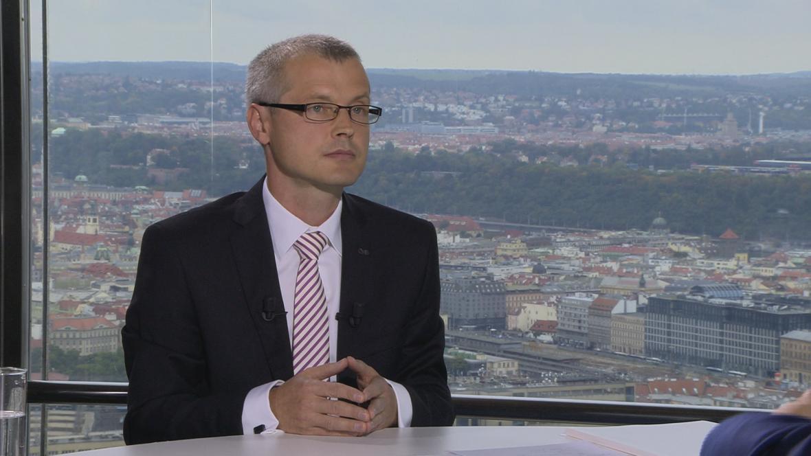 Viceguvernér České národní banky Vladimír Tomšík