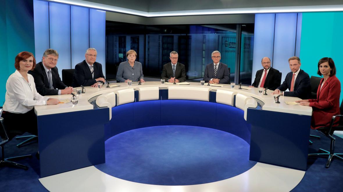 Německá povolební debata