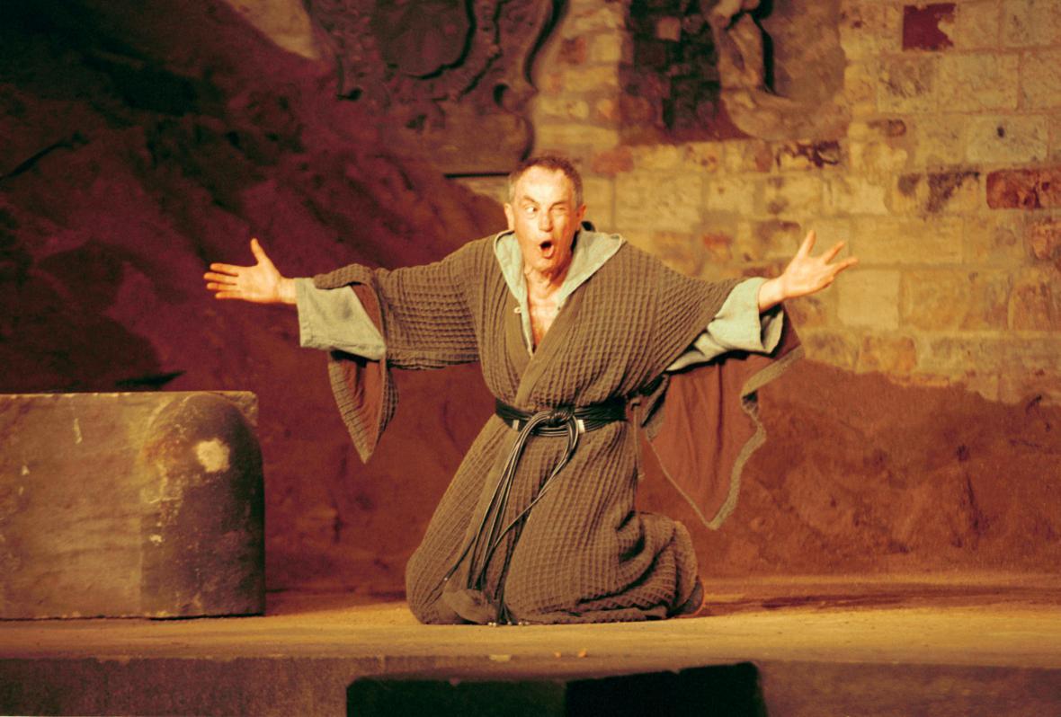 Jan Tříska jako Král Lear