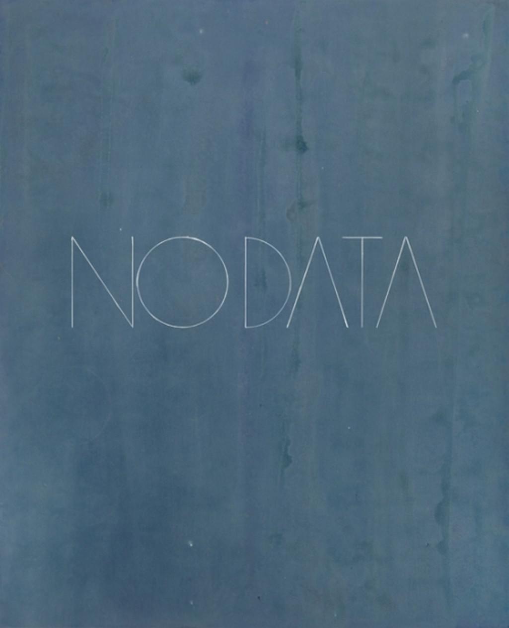Josef Archrer / No Data no. 9, z cyklu Data, 2017