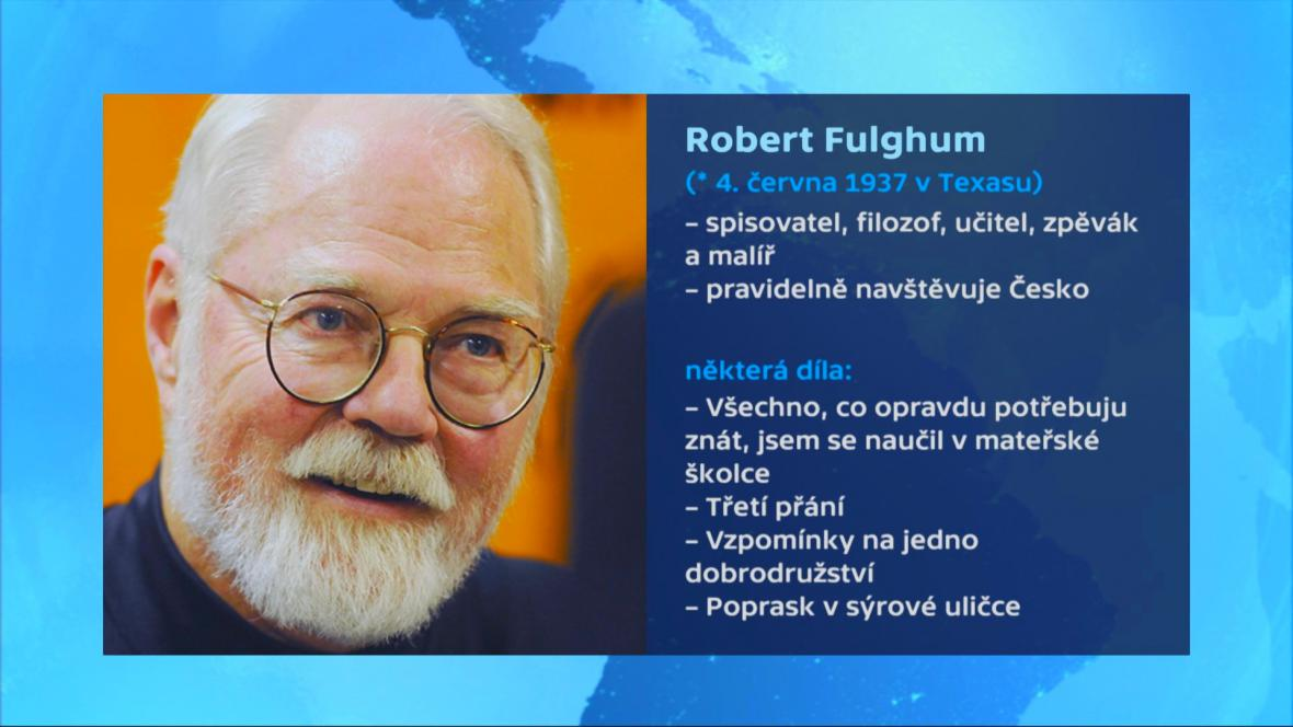 Vizitka Roberta Fulghuma