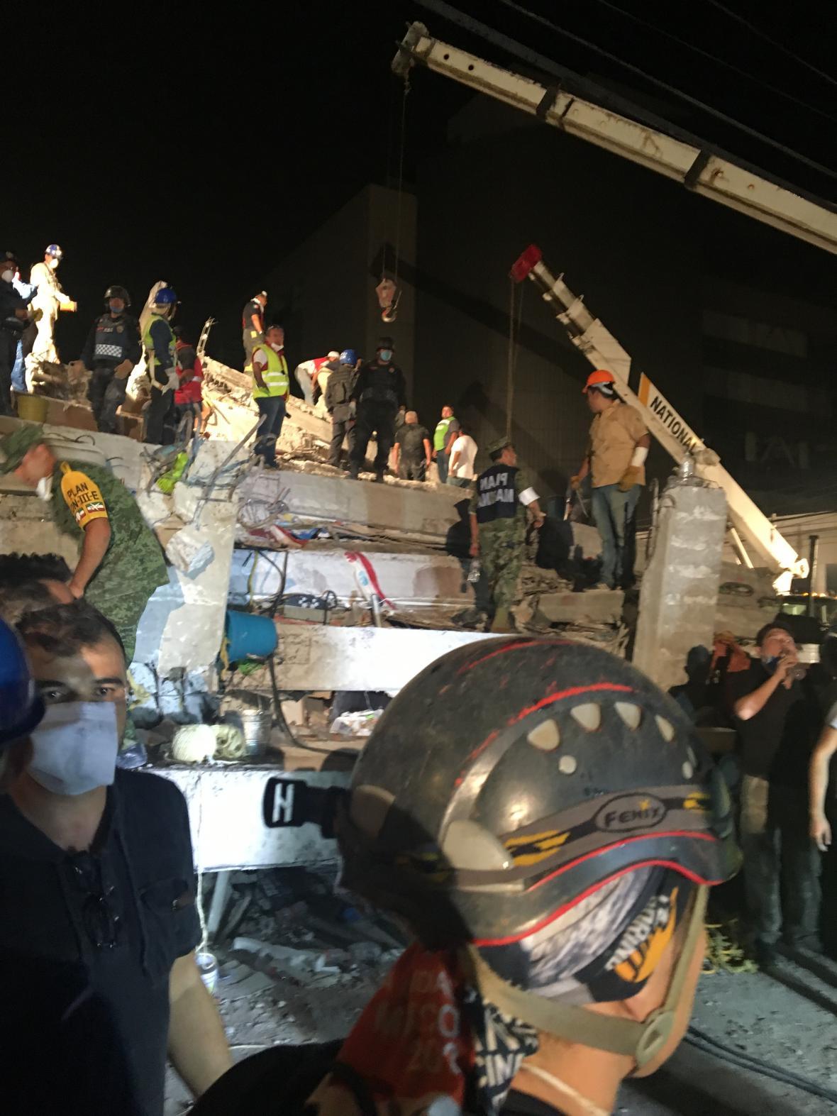 Mexiko po zemětřesení