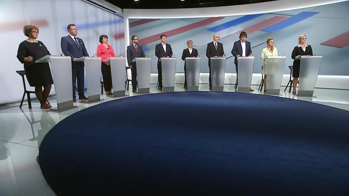 Předvolební debata ČT