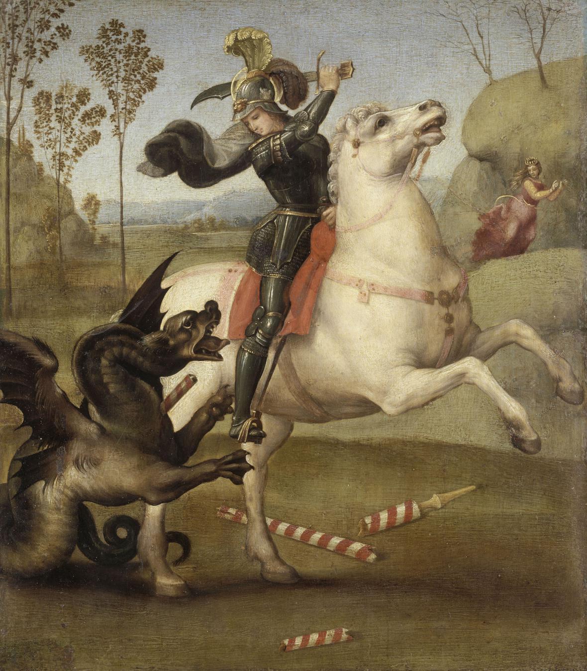 Raffael / Svatý Jiří, 1505