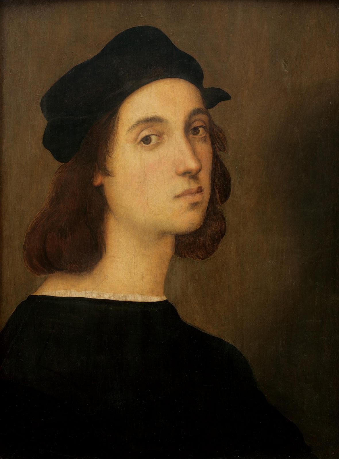 Raffael / Autoportrét, 1506