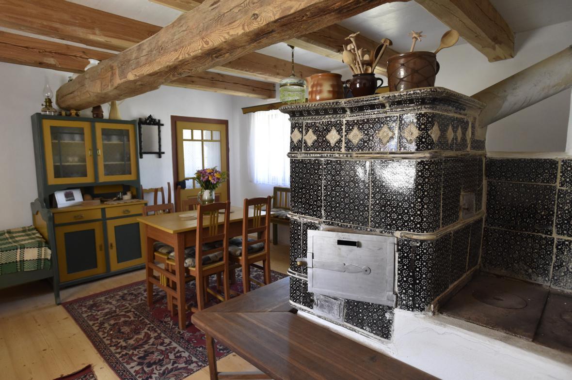 Historická selská usedlost v Kučerově na Vyškovsku