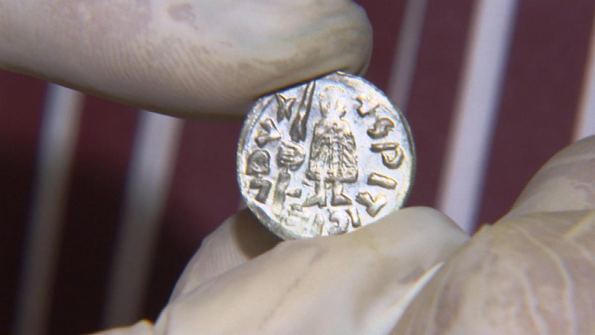 Mince nalezená u Řetče